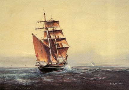 Eye of the Wind, painting by Bill Mearns