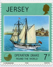 Jersey Stamp of the Eye of the Wind
